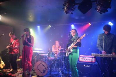 """Performing with my alternative band """"ChaWk"""" @ The Heartbreakers venue in Southampton, supporting """"Deco"""""""