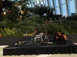 Playing @ The Sky Garden in London for a corporate law event.